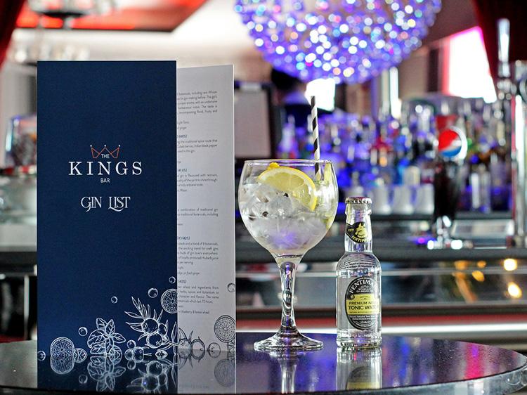 Gin List Menu Brochure Printing