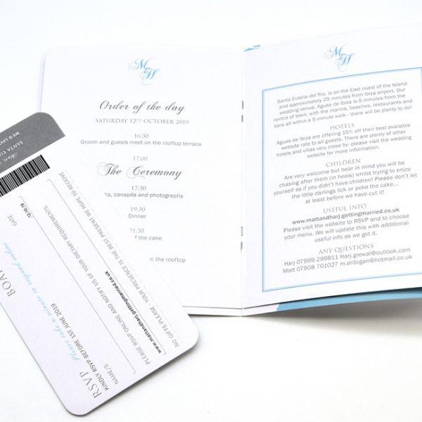 Wedding Event Tickets