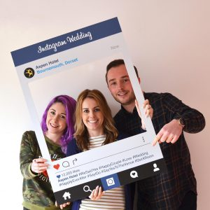 Printed Instagram Signs