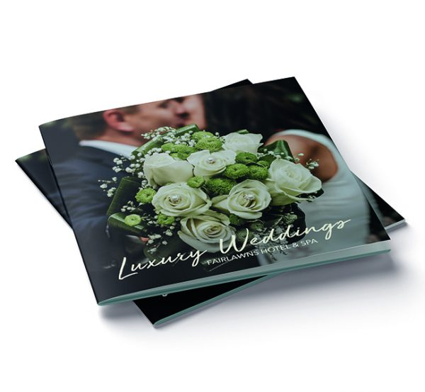 Wedding brochure design