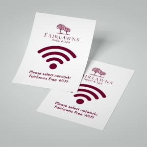 Hotel Wifi Cards