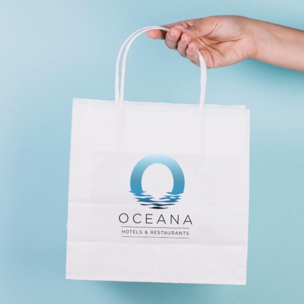 Hotel Branded Paper Bag