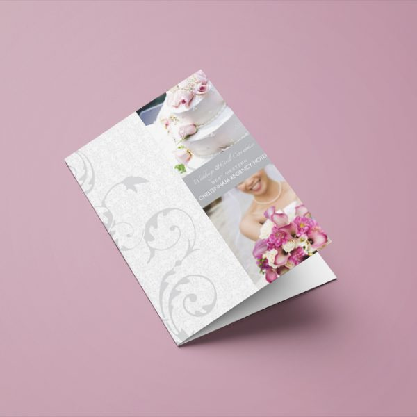 Wedding Presentation Folder
