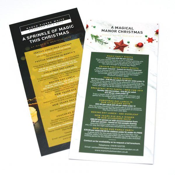 Christmas Flyer Printing