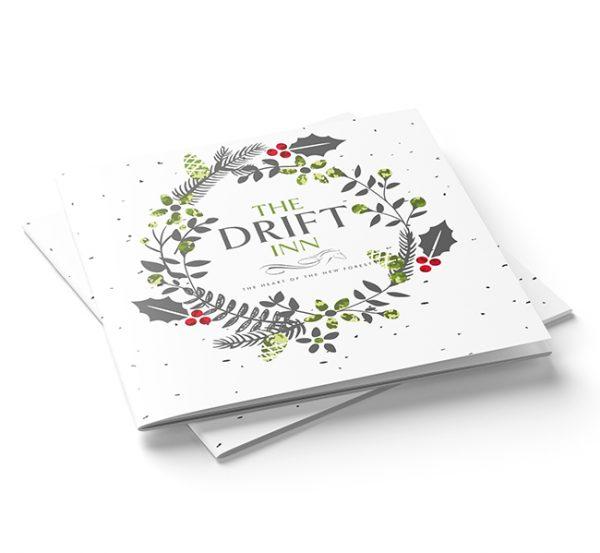 Christmas brochure design