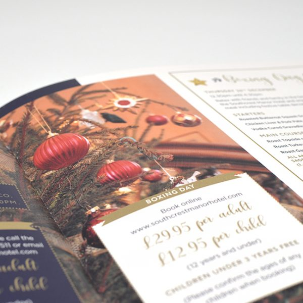 Christmas Hotel Flyer Printing