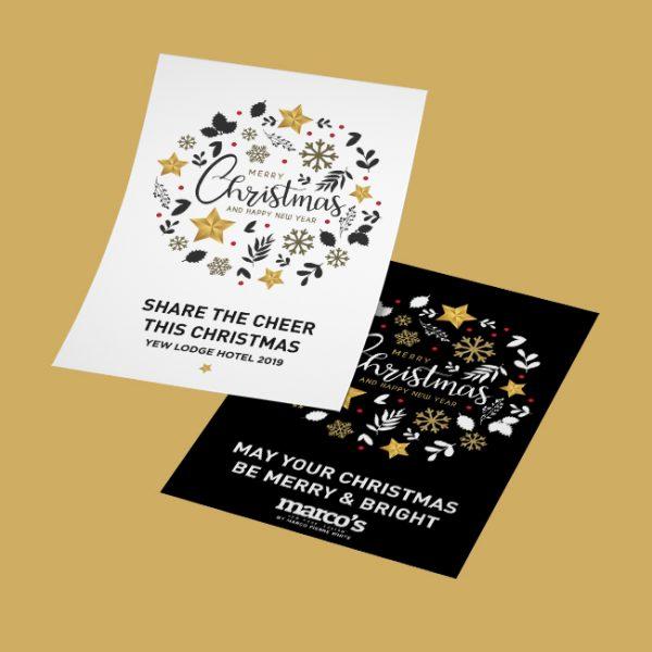 Festive Christmas Hotel Flyer Leaflet