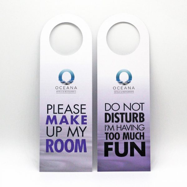 Housekeeping Door Hangers
