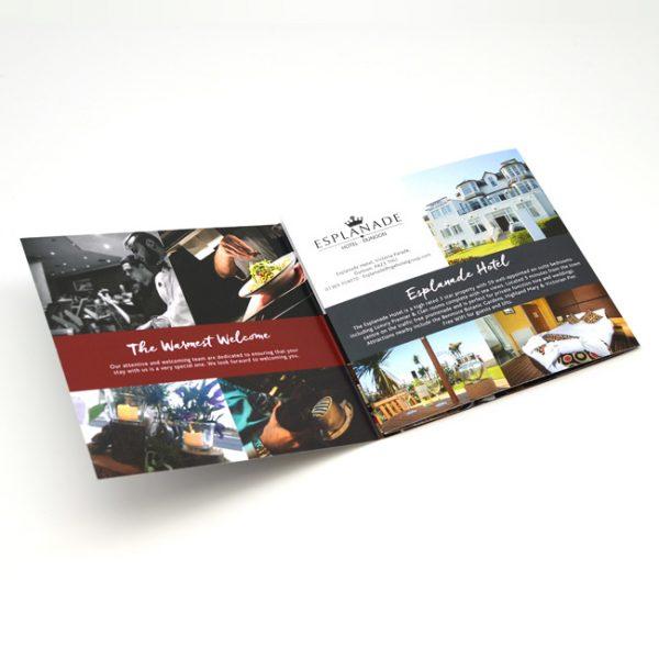 Hotel Brochure Design and Printer