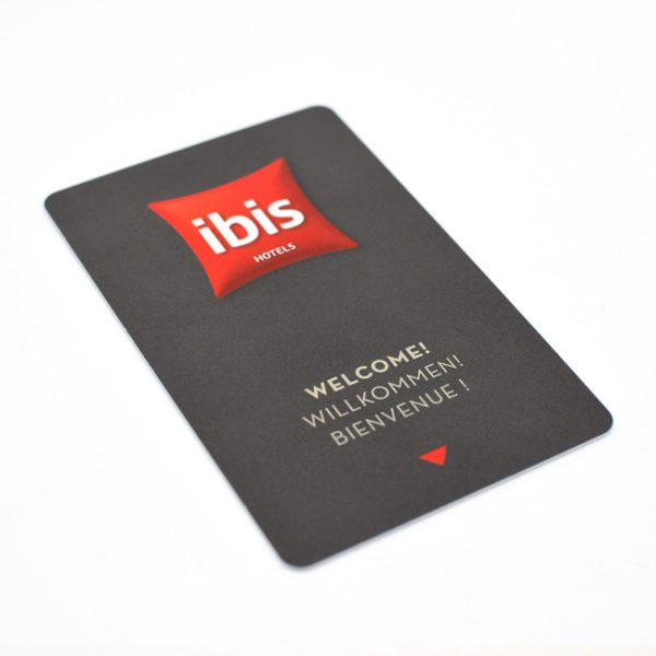 Hotel Room Custom Designed Key Card Supplier