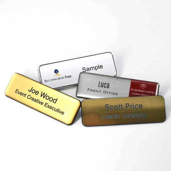Hotel Reception Name Badge Supplier