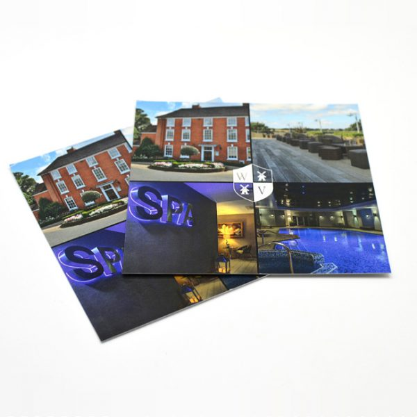 Design and Print service for Hotel Postcards