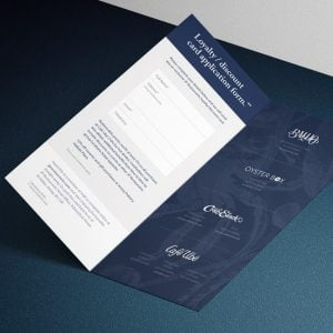 Restaurant Printed Bill Holders
