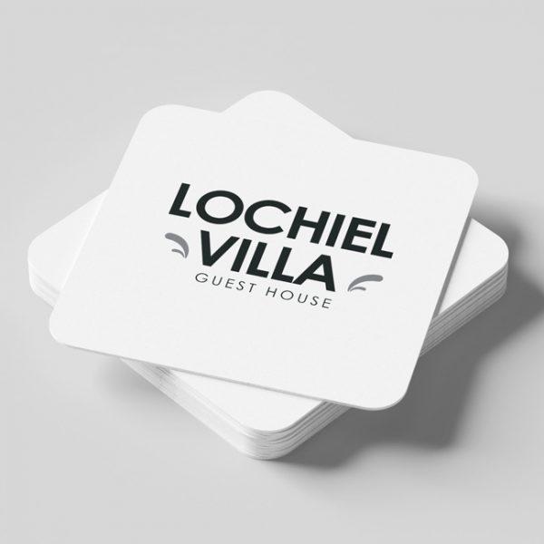 Custom Printed Restaurant / Bar Coasters