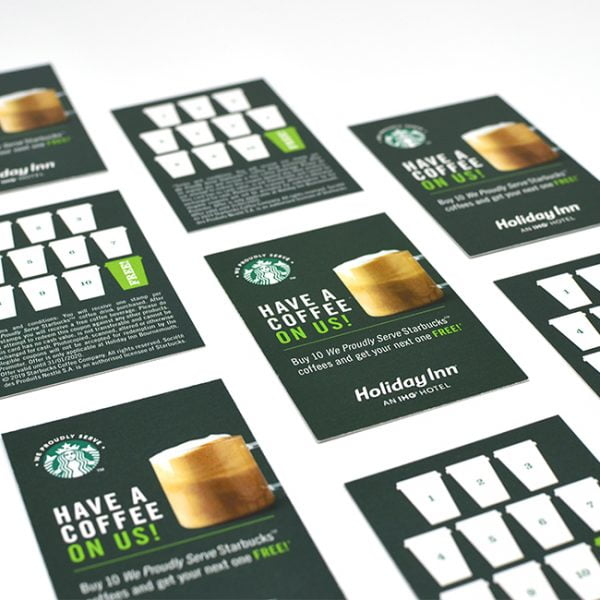 Starbucks Hotel Restaurant Coffee Loyalty Card