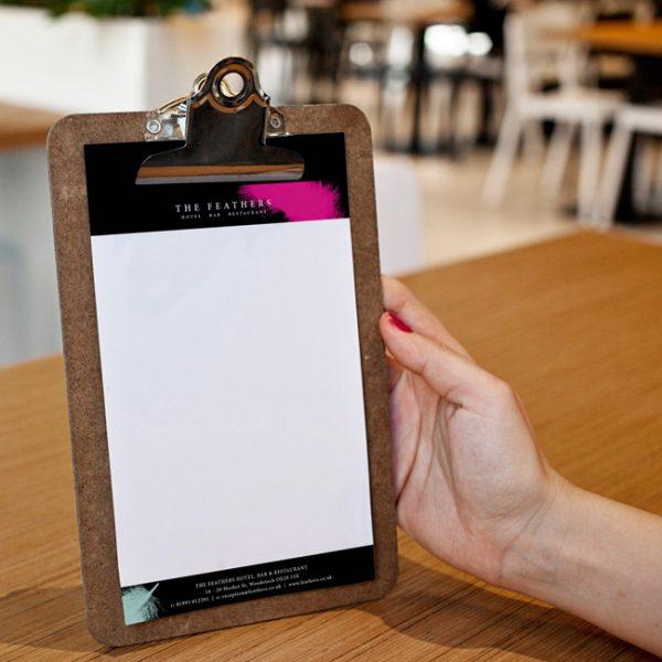 Restaurant Menu Paper