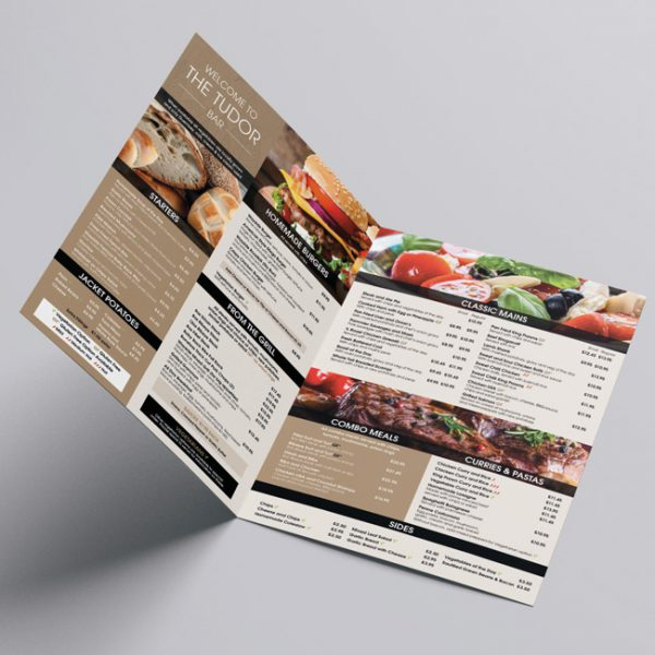 Restaurant, Bar and Cafe Menu Design and Print Supplier
