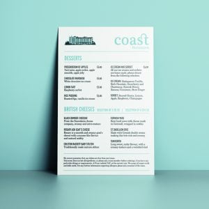 Restaurant Poster Design and Print