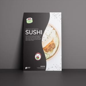 Restaurant Poster Design and Print