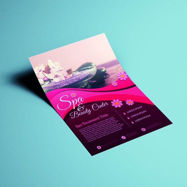 Spa Flyer Printing