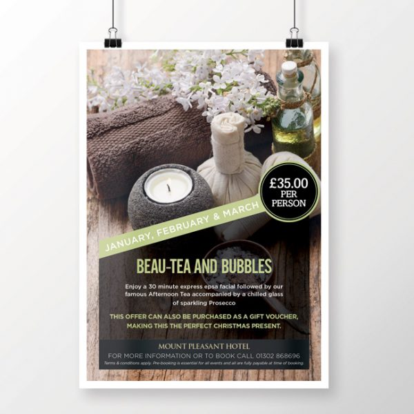 Spa & Leisure Hotel Poster Printing
