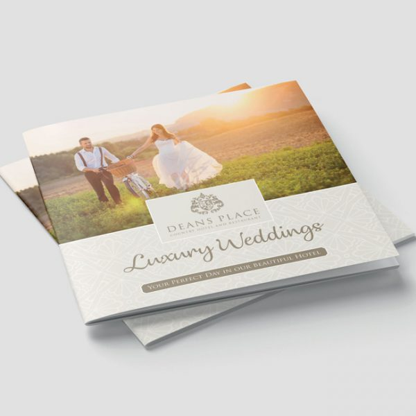 Hotel Wedding Brochure Design and Print