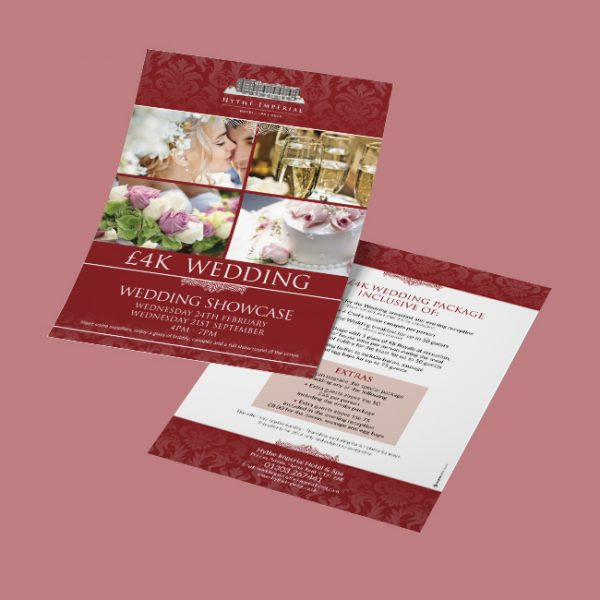Wedding Hotel Flyer Leaflet