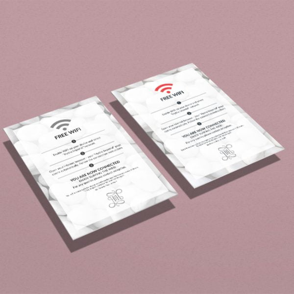 Hotel Wifi Cards