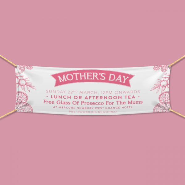Mother's Day Event PVC Banner