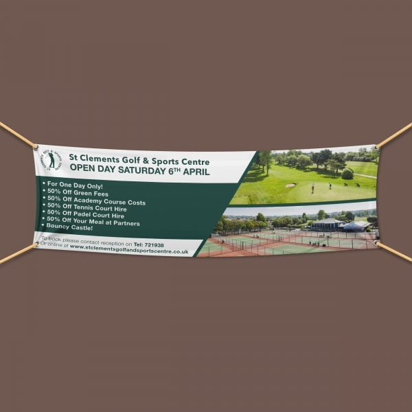 Golf Outdoor PVC Banner