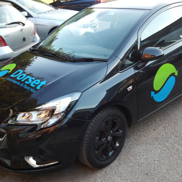 Hotel Vehicle Graphic Wrap Marketing and Sign Writing