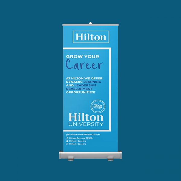 Pull Up Roller Banners