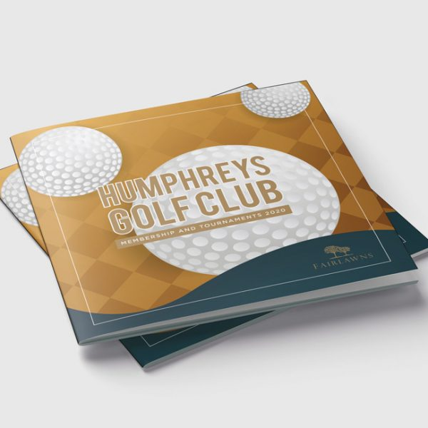 Leisure Golf Brochure Design and Print