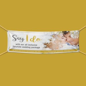 Wedding Outdoor PVC Banner