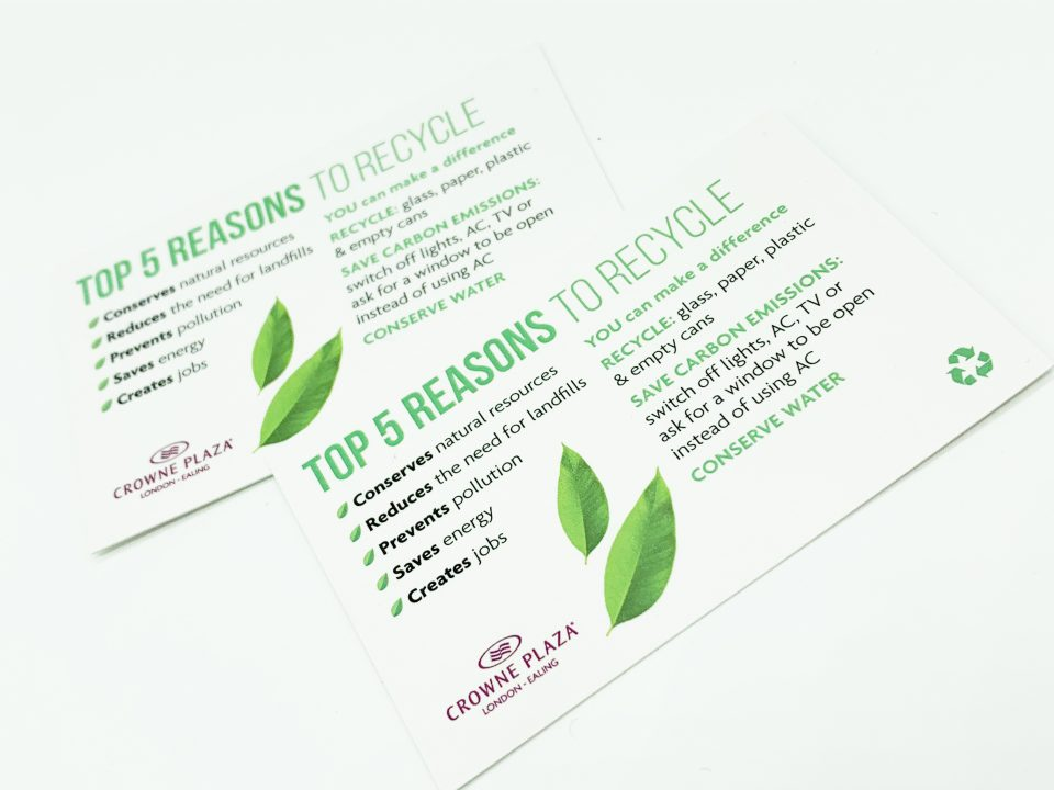 Going Green Flyer Design