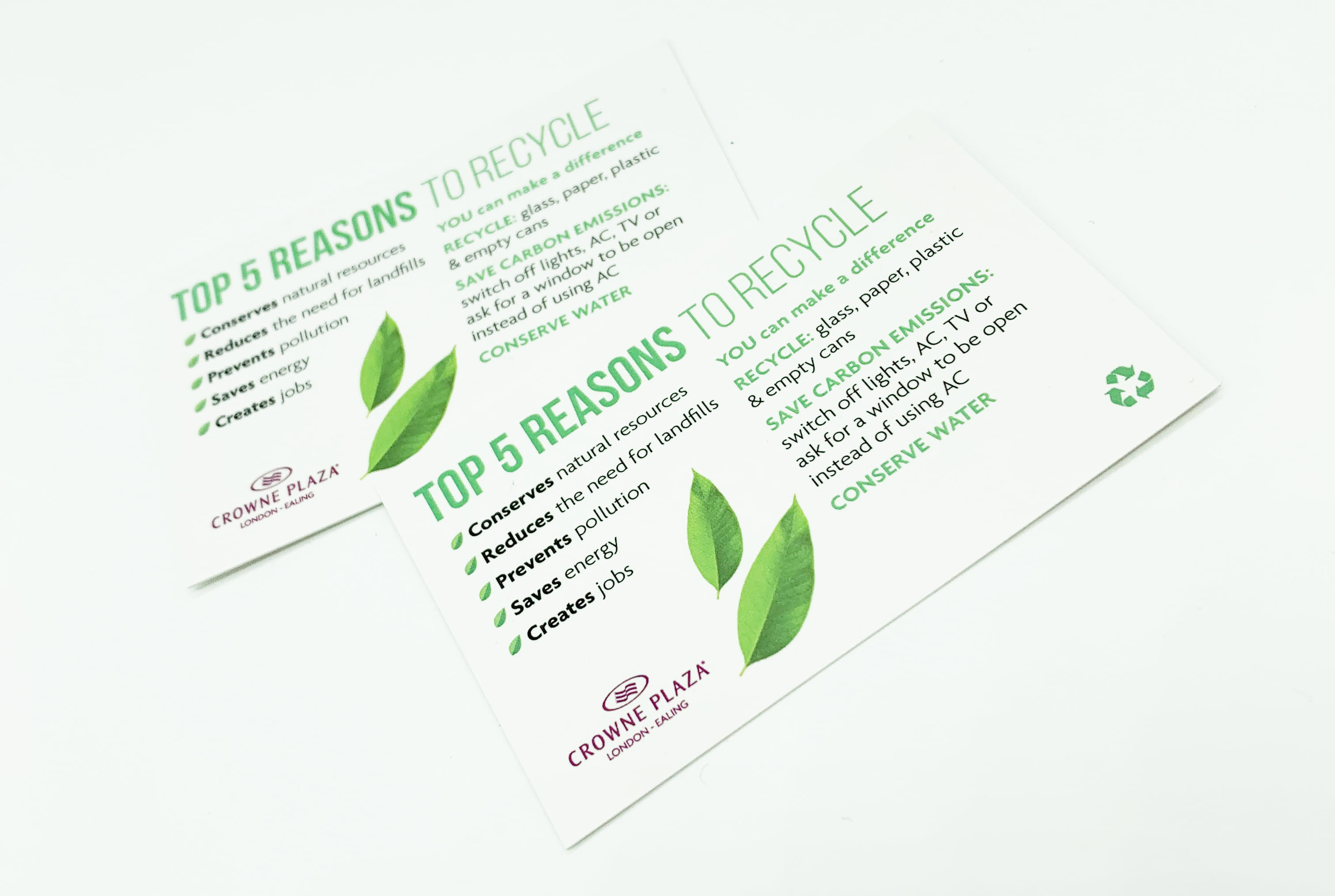 Recycling Cards Environmentally Friendly