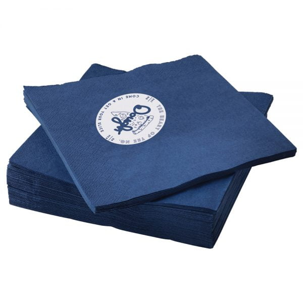 branded napkins